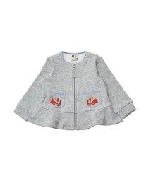 Petit jam / F.O.KIDS MART/とりさんポケットカーディガン_裏シャギー/501217454
