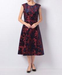 en recre/【Nouque】フラワーデザインドレス/501251203