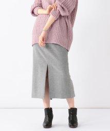 Demi-Luxe BEAMS/【BAILA12月号掲載】Demi-Luxe BEAMS / カシミヤ混 タイトスカート/501260992