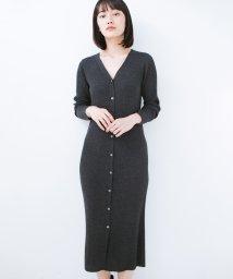 haco!/美シルエットがうれしい着方自由のオトナリブニットワンピース by MAKORI/501269725