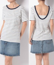 LEVI'S LADY/BACK SCOOP TEE SUNNY CLOUD DANCER/MOONLI/501271069