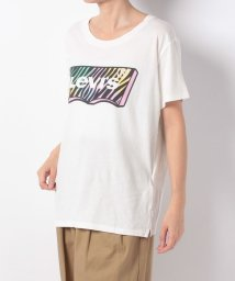 LEVI'S LADY/GRAPHIC BOYFRIEND TEE FUN HOUSEMARK ZEBR/501271071