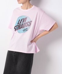 LEVI'S LADY/GRAPHIC J.V. TEE CIRCLE PFD LIGHT LILAC/501271072