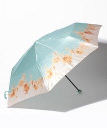 LANVIN Collection(umbrella)/LANVIN COLLECTION 婦人ミニP30Dサテンプリント水彩花/501283528