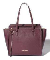 Salvatore Ferragamo/【Salvatore Ferragamo】AMY/トートバッグ【WINE/PEONY】/501283651