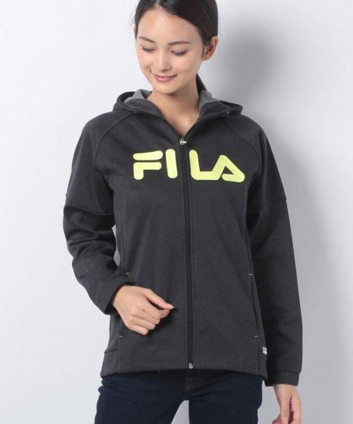 FILA(フィラ)/三層ボンディング裏フリースZIPパーカー/448605