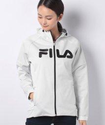 FILA/三層ボンディング裏フリースZIPパーカー/501293259