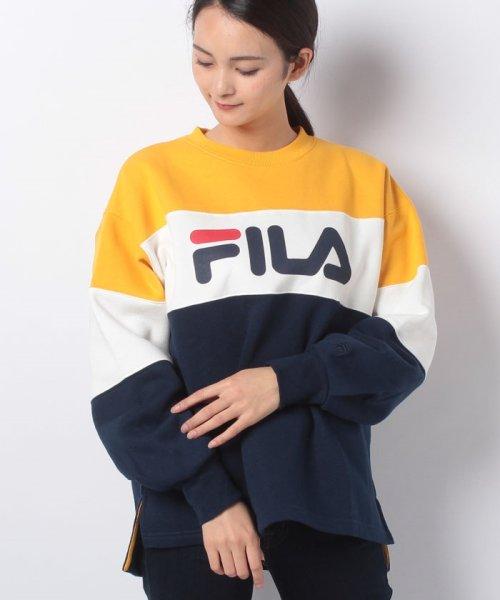 FILA(フィラ)/切替スウェットトレーナー/448615