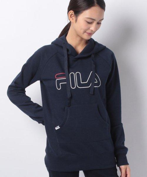 FILA(フィラ)/ロゴスウェットパーカー/448632