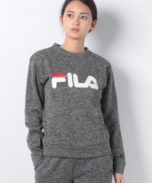 FILA(フィラ)/【セットアップ対応商品】ニットフリース クルーシャツ/448662