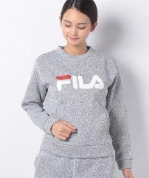 FILA/【セットアップ対応商品】ニットフリース クルーシャツ/501293264