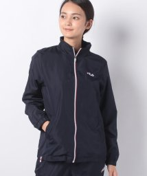 FILA/【セットアップ対応商品】タフタ×裏フリースジャケット/501293270