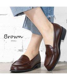 mili an deni/ペニーローファー 定番 シンプル 通勤 歩きやすい 靴 シューズ レディース/501299816