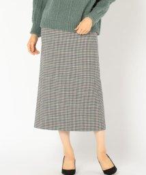 SHIPS WOMEN/PrimaryNavyLabel:チェックタイトスカート/501305447