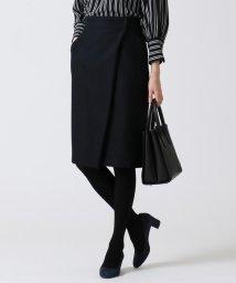 NIJYUSANKU/【セットアップ対応】ウールサキソニーツイル スカート/501306099