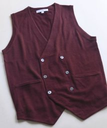 URBAN RESEARCH DOORS/LIFE STYLE TAILOR Harmony Double Knit Vest/501308396