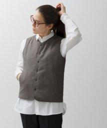 URBAN RESEARCH DOORS/UNIFY reversible vest/501308472