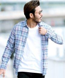 JIGGYS SHOP/コットン チェックシャツ / ネルシャツ 長袖シャツ シャツ メンズ/500900949