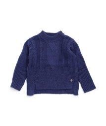 BREEZE / JUNK STORE/モックネック縄編みセーター/501213885
