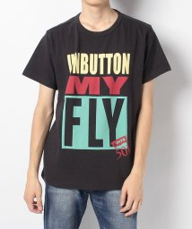 LEVI'S MEN/SS MIGHTY GRAPHIC TEE UNBUTTON MY FLY DR/501271041