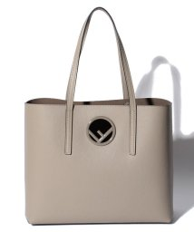 FENDI/【FENDI】LOGO SHOPPER/トートバッグ【TORTORA】/501283697