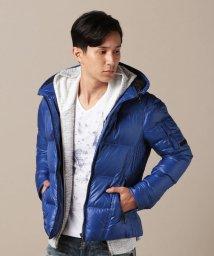 NICOLE CLUB FOR MEN/シレ―タフタダウンジャケット/501292336
