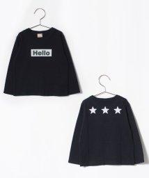 petit main/ボックスロゴTシャツ/501293602