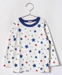 MIKI HOUSE HOT BISCUITS/星&車柄プリント長袖Tシャツ(70~110cm)/501299200