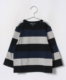 agnes b. ENFANT/J261 E TS  ボーダーTシャツ/501299298