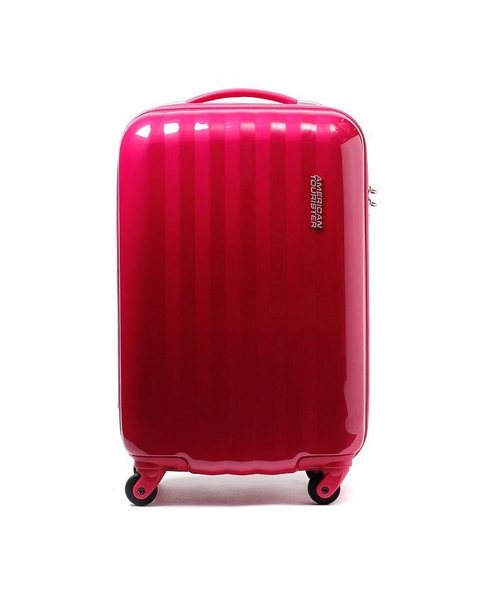 ギャレリア サムソナイト アメリカンツーリスター スーツケース AMERICAN TOURISTER Prismo 30L Samsonite 41Z*001 46292 ユニセックス ピンク F 【GALLERIA】