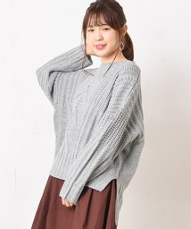NICE CLAUP OUTLET/ケーブル編みKT/501305215