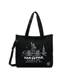 YAKPAK/ヤックパック トート YAKPAK 2WAY トートバッグ EMBROIDERY SHOULDER TOTE キャンバストート 8325304-T/501307912