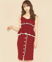 titty&Co./【セットアップ対応商品】ビジュースカラップタイトスカート/501309266