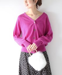 Spick & Span/PURE CASHMERE 2WAY Vカーディガン◆/501309395