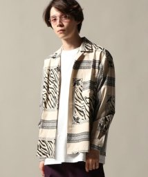 Journal Standard TRISECT/TRIBES TIGER OPEN シャツ/501309736