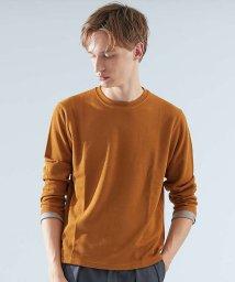 ABAHOUSE/TR鹿の子ダブルフェイスクルーネックTシャツ/501311238