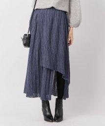 IENA/JANE SMITH ランダムプリーツ アシンメトリースカート/501311278
