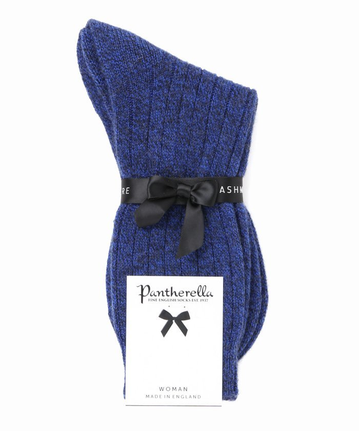 ジャーナルスタンダードW750:靴下レディースブルーAフリー【JOURNAL STANDARD】