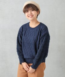 NICE CLAUP OUTLET/ケーブルニット/501305223