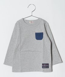 MIKI HOUSE HOT BISCUITS/ポケット付き 長袖Tシャツ(70~110cm)/501299201