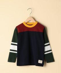 coen/【coen キッズ / ジュニア】クレイジーパターンフットボールカットソー/ロンT(100~150cm)/501267394