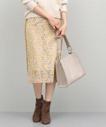 ROPE'/マロウ刺繍レースタイトスカート/501298447
