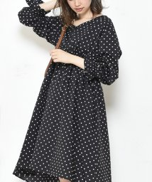 NICE CLAUP OUTLET/【every very nice claup】ウエストレースアップイレヘムワンピース/501305209