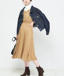 NICE CLAUP OUTLET/【every very nice claup】レーヨンドットワンピース/501305210