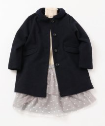 SHIPS KIDS/SHIPS KIDS:ボア カラー コート(ネイビー)(100~130cm)/501312512