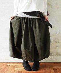 and it_/ちょこっと起毛コットンロングバルーンスカート/501312527