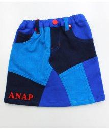 ANAP KIDS/パッチワークデザイン・ミディアム丈スカート/501315729
