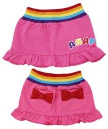 ANAP KIDS/ウエストレインボー・2wayリボンスカート/501316414