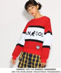 PINK-latte/【KANGOL】★ニコラ掲載★ボアブロッキング トップス/501316817
