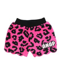 ANAP KIDS/レオパード柄フリースショートパンツ/501317637